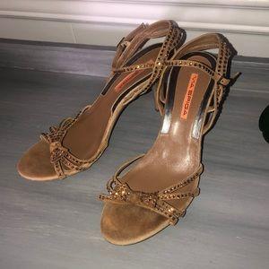 Via Spiga Gold Sandals